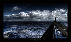 Tynemouth in the Storm