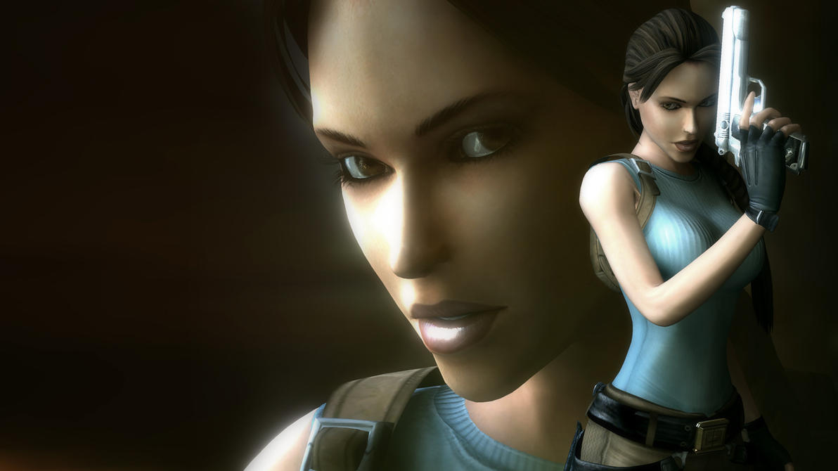 Tomb Raider Anniversary Render By Geckokid