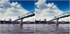 3D Millennium Bridge