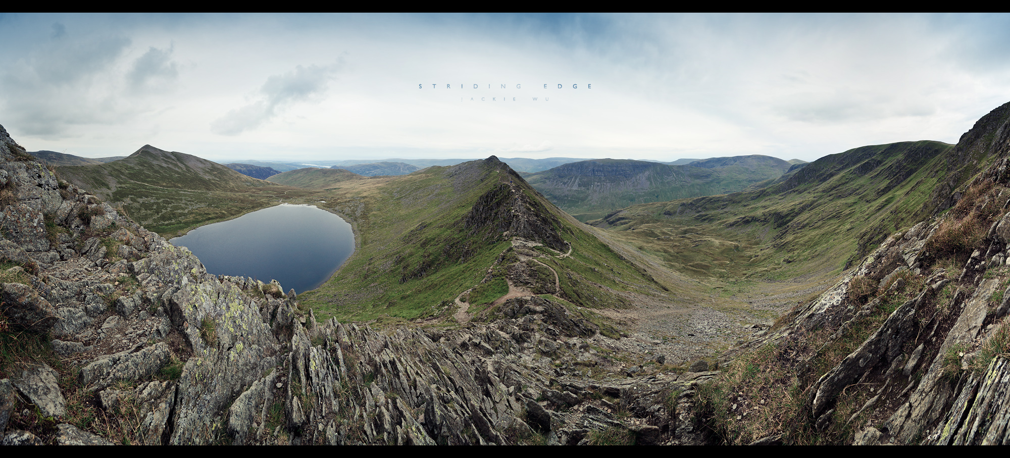 Striding Edge by geckokid