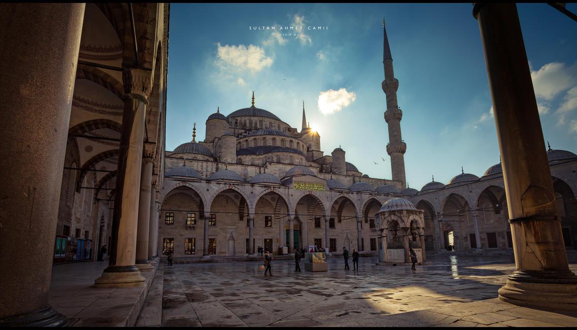 Sultan Ahmet Camii by geckokid