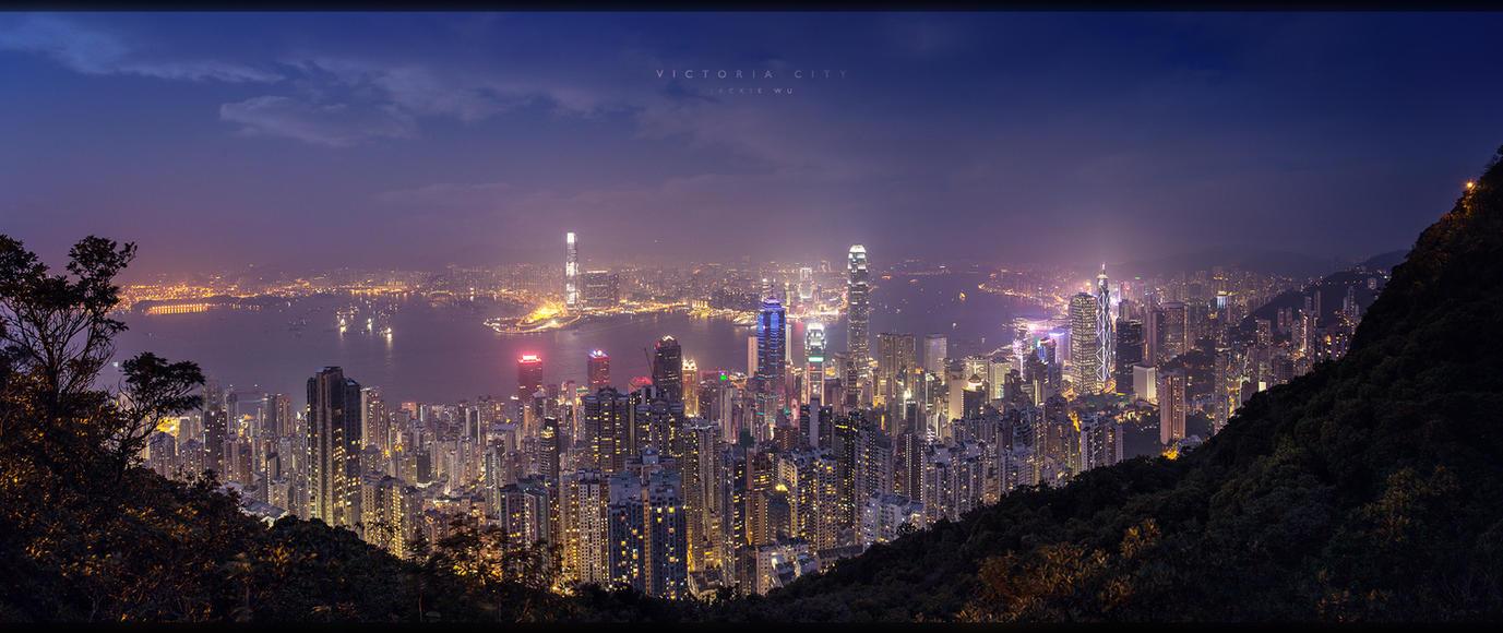 Victoria City by geckokid