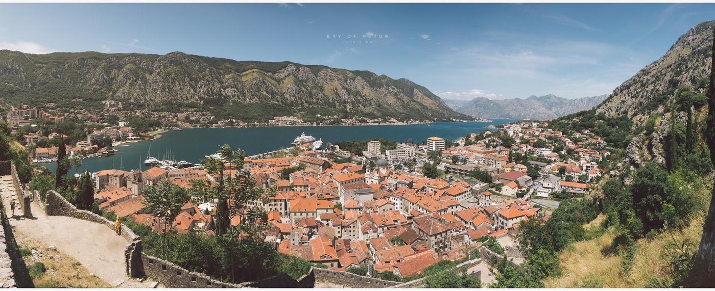 Bay of Kotor by geckokid