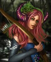 The Hunter Girl by Mutsumipat