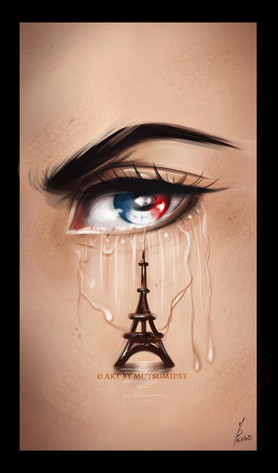 France Will Stay Strong by Mutsumipat
