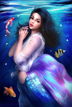 Mermaid and Fishes