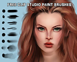 Gumroad shop open + Free brushes