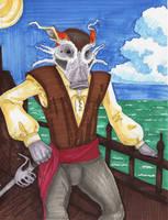 Hog Pirate by RRedolfi