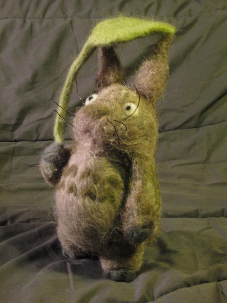Needlefelt Totoro by shadechristiwolven