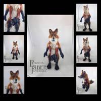 Needle Felt Fox Doll, compilation image