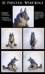 3D Printed Werewolf