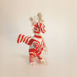 Peppermint Snowflake Dragon