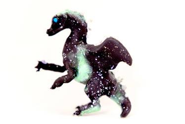 Aurora Borealis Snowflake Dragon