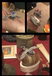 Itty Bitty Dragon!! by RRedolfi