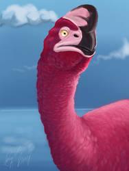 Neon Oviraptor