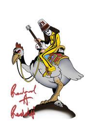 Bakshihead - Ralph Bakshi and Buckethead Fan Art