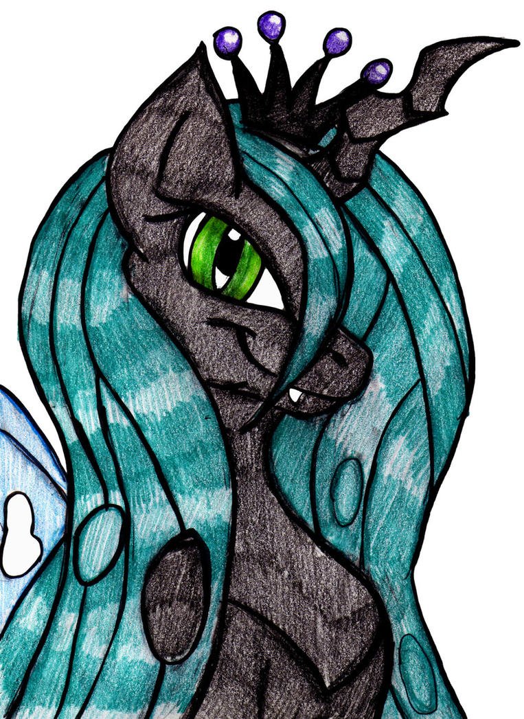 PS: Queen Chrysalis by mhedgehog21