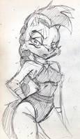 WIP: RD: EMS: Lupe Sketch by mhedgehog21
