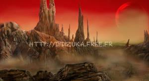 Red planet by didizuka
