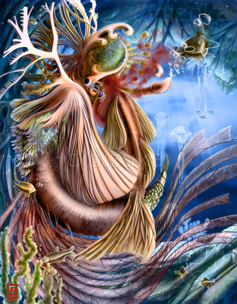 Underwater creature by didizuka