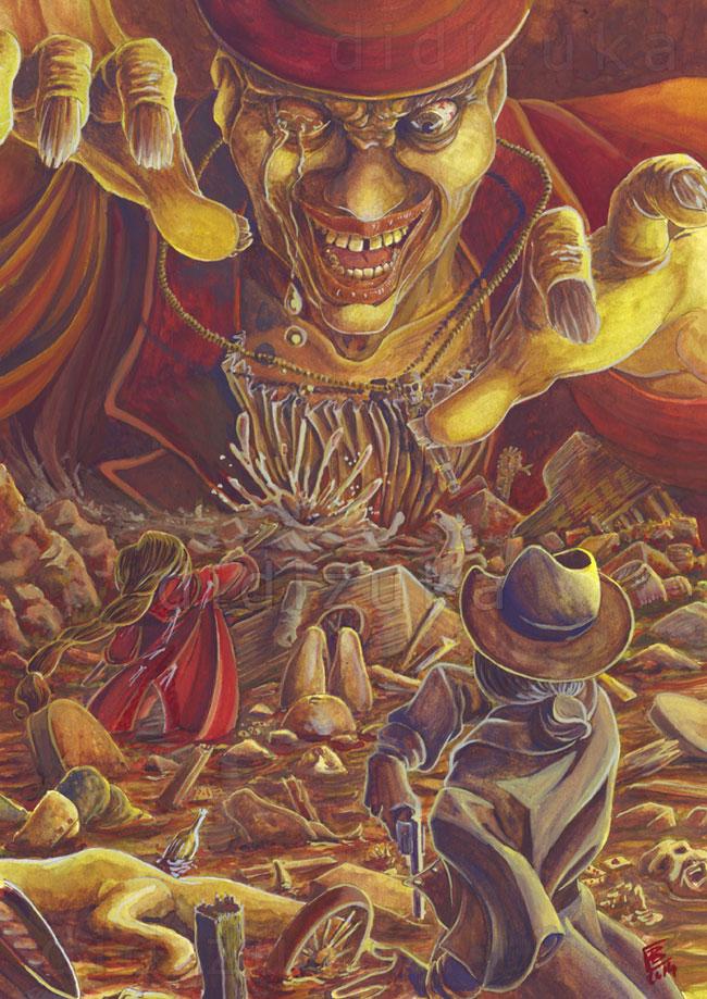 The slaves of gold by didizuka