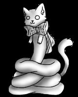 Slinky Cat pose by xKawaiiGinax