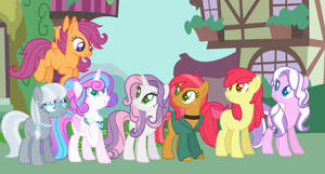 Original Cutie Mark Crusaders - Grown up!