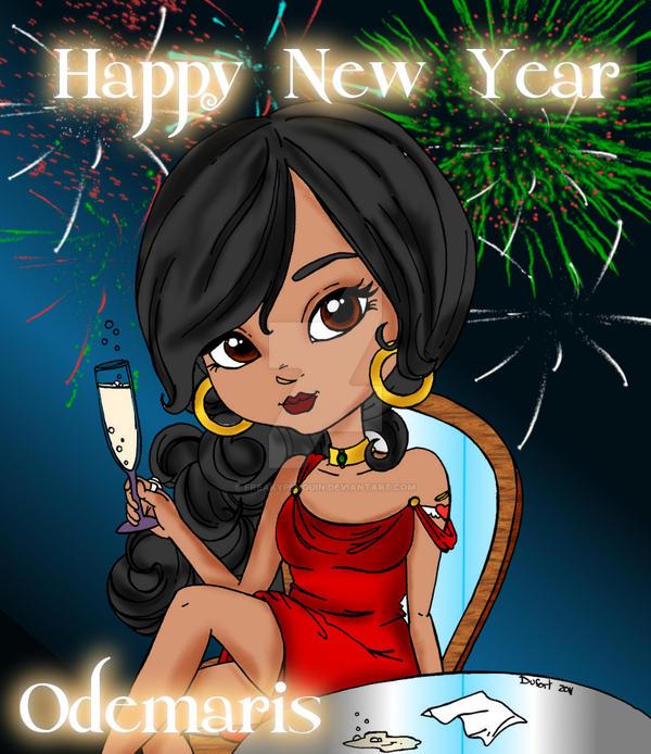 New Years Odemaris by FreakyPenguin