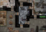 City slums rooftops RPG map