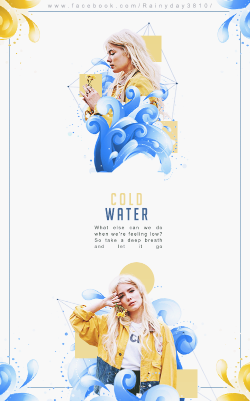 Cold Water // Halsey // by hyolee112