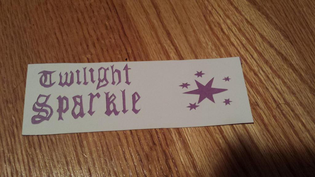 Twilight Sparkle Bookmark by NightPrincessLuna