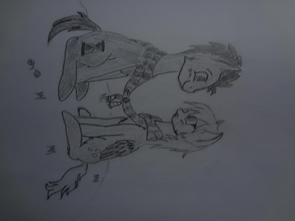 Derpy and Dr Whooves by NightPrincessLuna