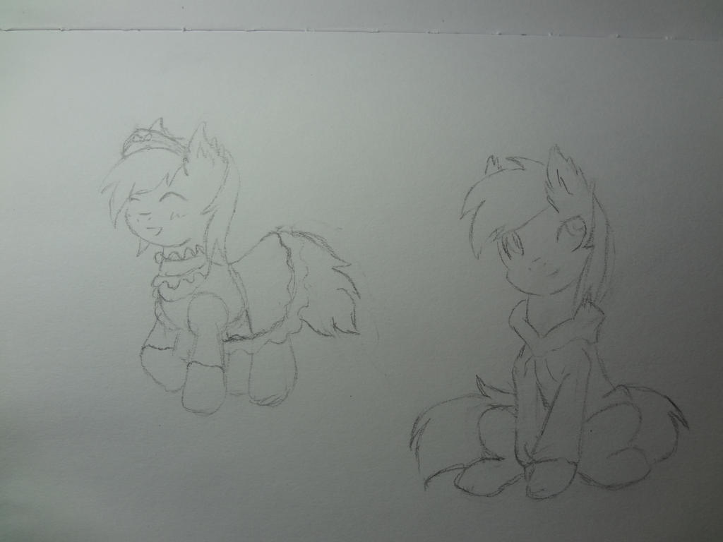 Sketchy Sketch Request by NightPrincessLuna