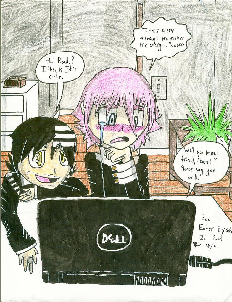 Kid x Crona 1 by SourcetheHedgie on DeviantArt