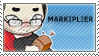 Markiplier 8 Million Stamp by Pin-eye