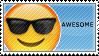 Awesome Emoji Stamp by Pin-eye