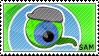 Jacksepticeye 8 Million Sam Stamp by Pin-eye