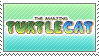 Stamp -- The Amazing Turtlecat Logo by Pin-eye