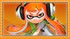 Orange Inkling Stamp by Pin-eye