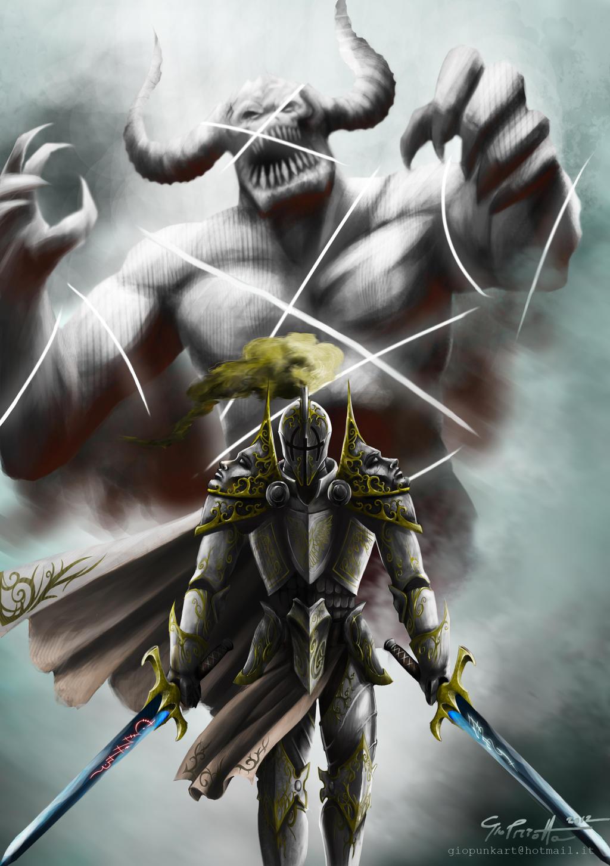 swordman by giopunkart