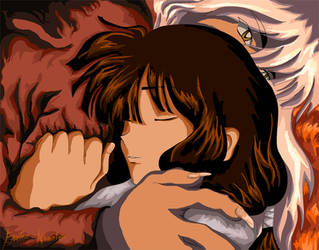 We.are.broken. Kikyo Inuyasha by End1ess-Name1ess