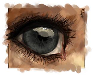 An eye by End1ess-Name1ess