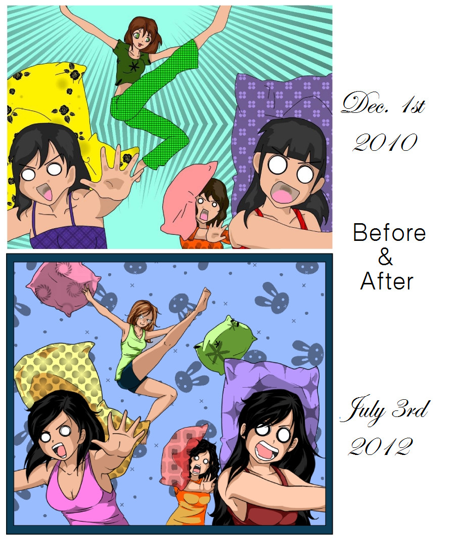 Before and After by Kamanari