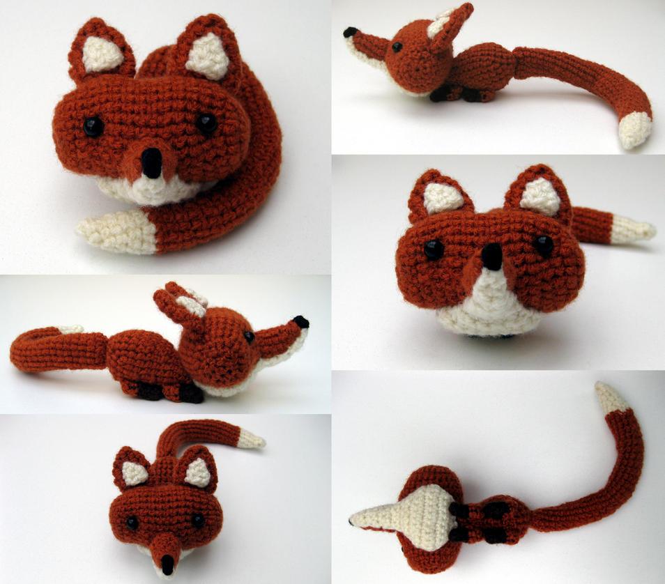 Fox Amigurumi Multishot by Poopycakes-makes
