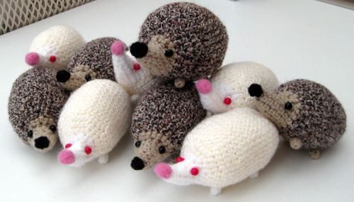Bundle of Hedgehogs by Poopycakes-makes