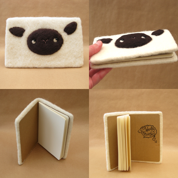 Woolly Thoughts Notebook / Journal by Poopycakes-makes