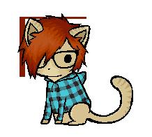 Emo Hipster Minikitten Adopt by Sergle