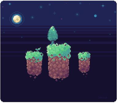 Pixel Scene Practice by Sergle