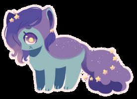 [ SOLD ] Space Cy-kitten by Sergle