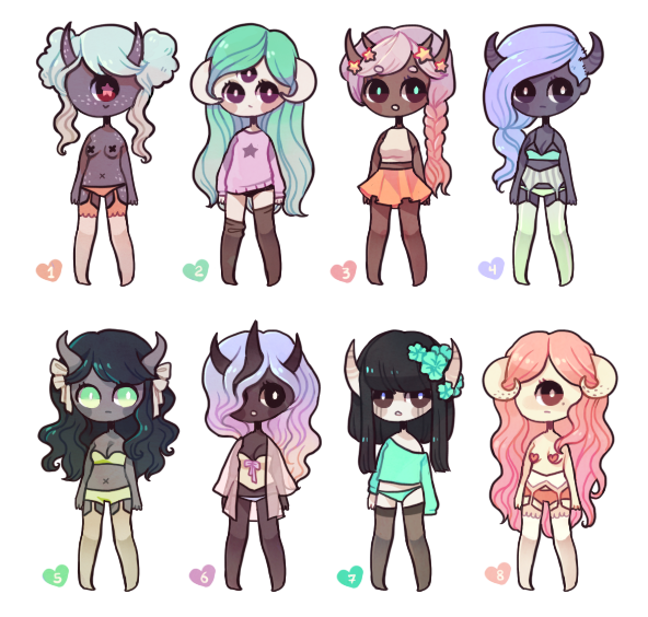 pastel gore adopts by - photo #40